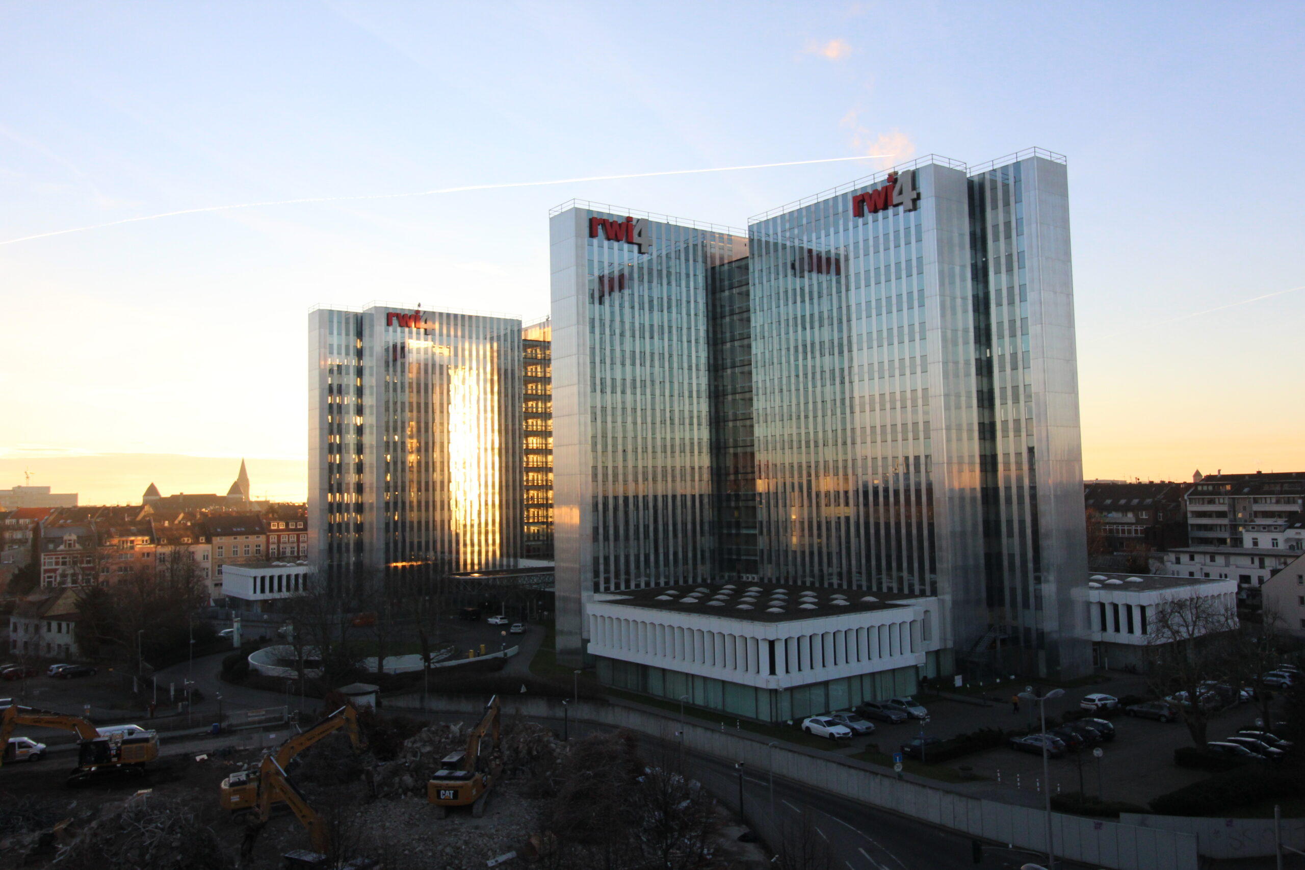 Vermietungserfolg in Düsseldorf – nähe Medienhafen / Leasing success in Düsseldorf – nearby the media district